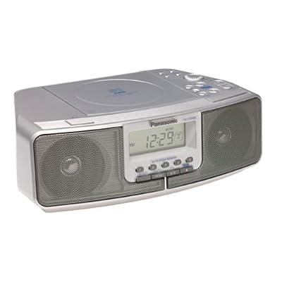 Image of Panasonic RC-CD500 Dual-Alarm CD Clock Radio (Discontinued by Manufacturer) Alarm Clocks