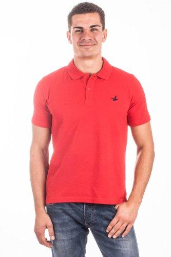 Santa Barbara Herren Poloshirt Rot SNB-P05