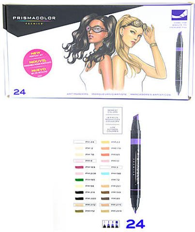 Prismacolor Marker Sets (Portrait) 1 pcs sku# 1832942MA by Prismacolor
