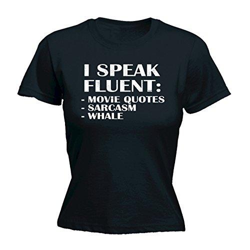 Speak I Fluent Slogans Pour Femme 123t 7qCfRtwn