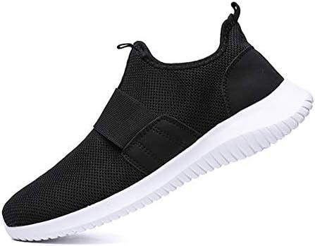 スニーカー スリッポン メンズ バンド 靴紐なし 軽量 大きいサイズ 幅広 通勤 通学 カジュアル 24.5-28cm