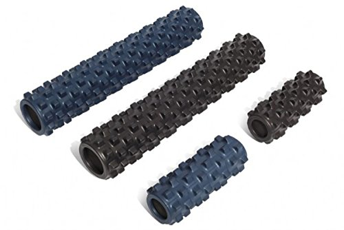 RumbleRoller Textured Muscle Foam Roller Manipulates Soft Tissue Like A Massage Therapist