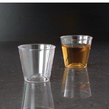 EMI YOSHI, 1 oz. Clear Ware Shot Glass, Clear by EMI Yoshi