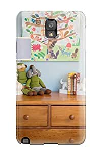 Awesome Design Children8217s Room With Dresser Stuffed Animals 038 Books Hard Case Cover For Galaxy Note 3