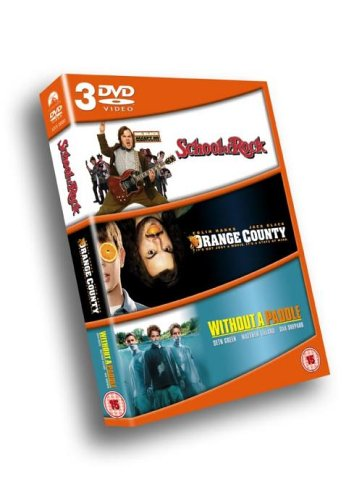 School Of Rock / Orange County / Without A Paddle - Jack Black / Colin Hanks / Seth Green DVD