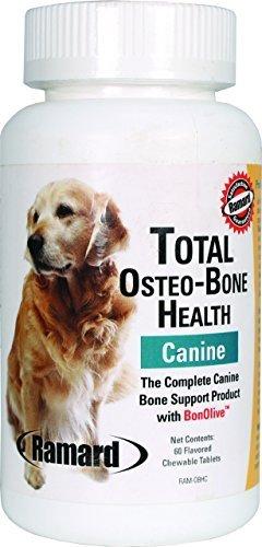Total Osteo-Bone Health Canine 60 Chwbls by Ramard