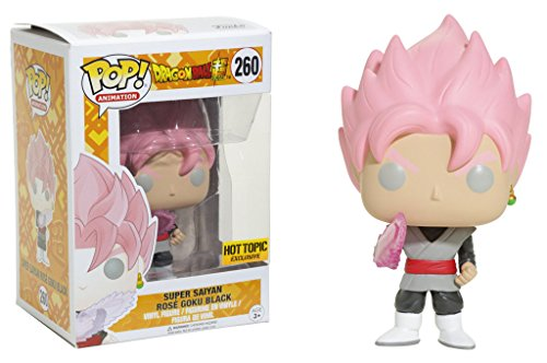 Funko Pop! Animation Dragon Ball Z Super Super Saiyan Rose Goku Black #260