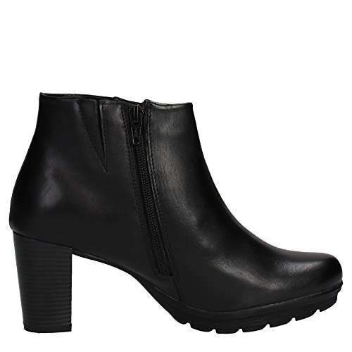 Boots Ankle with Soft Heels Cinzia Women Black IV9659 pZzxC