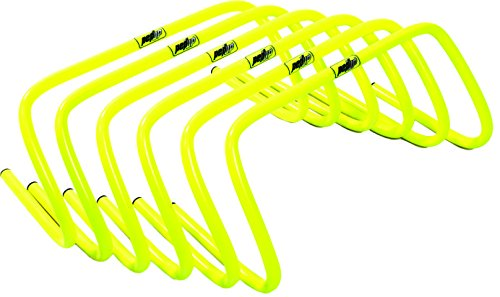 Pepup Agility and Speed Training Hurdle, Lightweight Ultra Durable (Set of 5), 6""