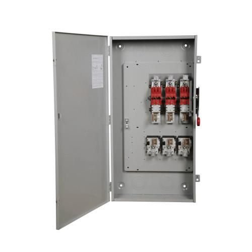 Eaton DG325NGK 4 Wire 3 Pole Fusible K Series General-Duty Safety Switch 240 Volt AC 400 Amp NEMA 1