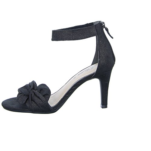 Oliver s Damen 55 Slippers Hi Women's Schwarz Top Schwarz Sandalette 28350 d4OSq