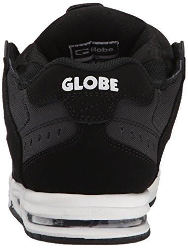 GLOBE Skateboard Shoes SABRE BLACK/CARBON/WHITE Size 14