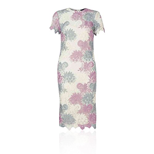 Marks and Spencer Damen Schlauch Kleid Pink Gemischt J2PLHdDiR ...