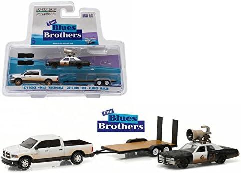 Greenlight 1:64 Hitch /& Tow 1 Blues Brothers 2015 Ram 1500 /& 1974 Dodge Monaco