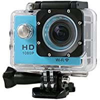 "Boyiya SJ7000 2"" WIFI 1080P HD Action Camera Waterproof Sports DV Pro Camcorder New HOT (Blue)"