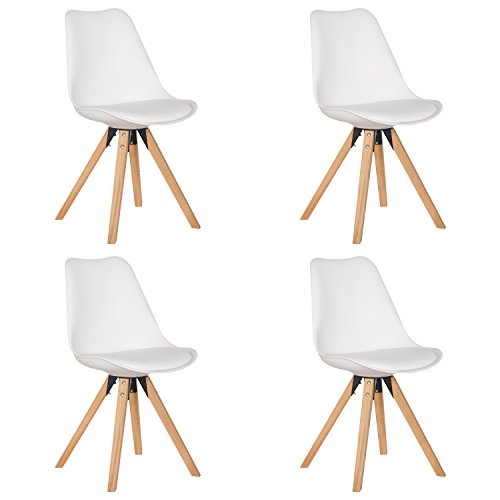 Modern Contemporary Urban Design Kitchen Dining Side Chair: Design Furniture Collection DFC Eames Style Upholstered