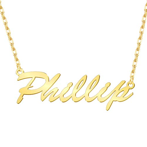 Personalized Jewelry Custom - Custom4U Personalized Name Necklace Custom Made Pendant Jewelry Gift for Women