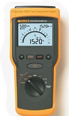 Fluke 1520 MegOhmMeter