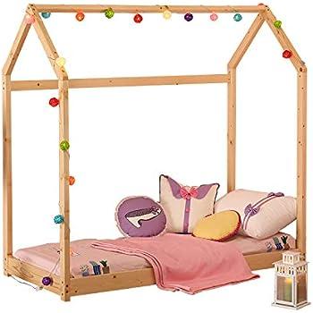 Amazon Com Uhom Bedroom Twin Size Furniture Premium Wood