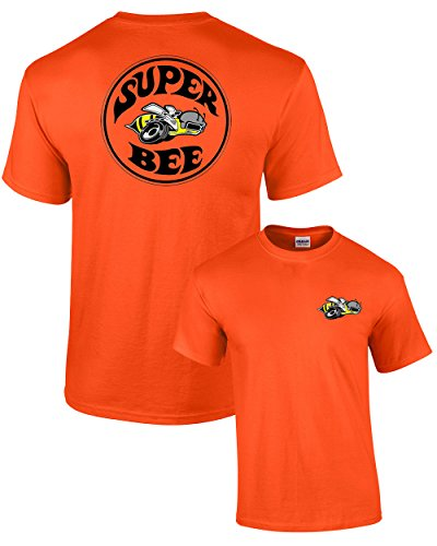 Dodge T-Shirt Super Bee -Orange-XL