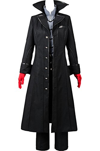 Cosplaysky Persona 5 Costume Joker Outfit Medium