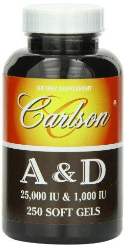 Carlson Labs Vitamin 25000 Softgels
