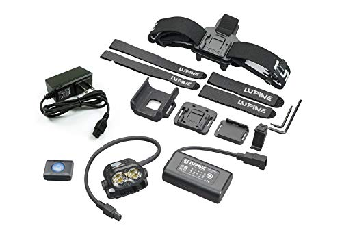 - Lupine Lighting Systems Piko All-in-One Kit Headlamp and Helmet Mount Light 1800 Lumen -2019 Version