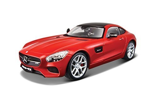 Mercedes AMG GT Red Exclusive Edition 1/18 Scale Diecast ...