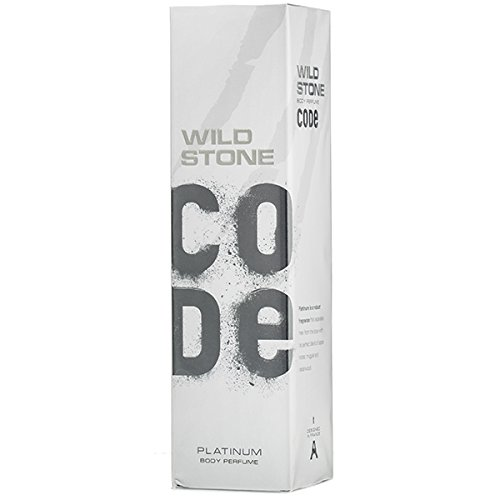 Wild Stone Code Platinum Body Perfume, 120ml