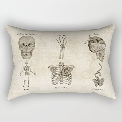 Bestseason The Skull Pillow Covers Of ,12 X 20 Inches / 30 By 50 Cm Decoration,gift For Kids Boys,adults,gril Friend,bedding,car,wife (each Side)