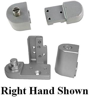 Right Hand in Dark Bronze Choose Handing /& Finish Pacific Doorware Kawneer Style TOP /& Bottom Pivot Hinge Set for Commercial Adams Rite Type Storefront Door