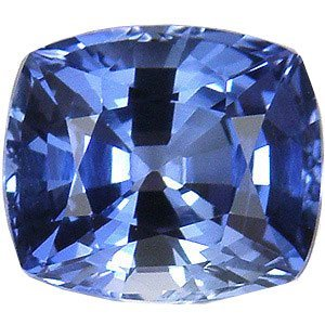 Blue Cushion Loose Sapphire Unset Gemstone 3 Carats Lab from uGems