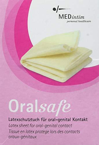 Oral Safe Vanilla Dam x8 by MedIntim