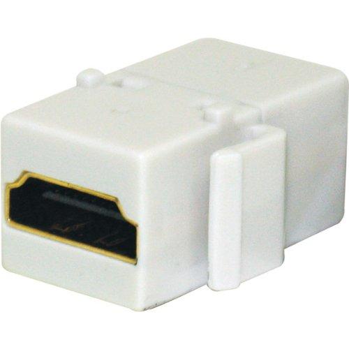 - Steren Keystone HDMI Modular Insert - White