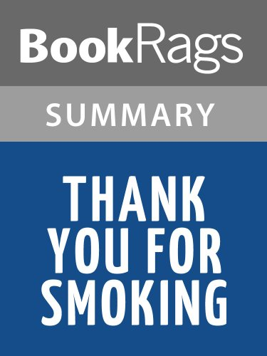 Summary & Study Guide Thank You for Smoking by Christopher Buckley