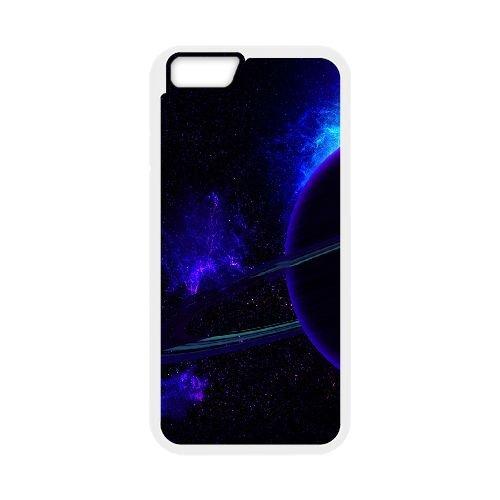 Neon Glowing Planet coque iPhone 6 Plus 5.5 Inch Housse Blanc téléphone portable couverture de cas coque EOKXLKNBC20853