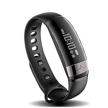 Lemumu M6 Sport Bluetooth Smart Banda de frecuencia cardíaca con Tensiómetro Brazalete Pulsera resistente al agua IP67 para el IOS, Android, ...
