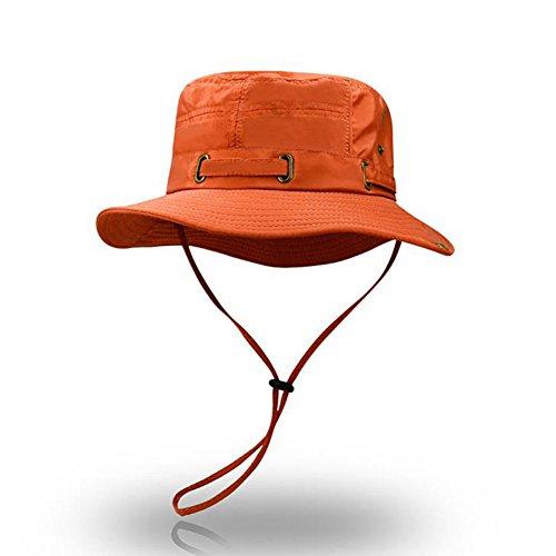 日曜日コレクション雄弁家SHIAWASENA 日焼け止めキャップ UVカット アウトドア バイザー サンハット 折りたたみ帽子 バケットハット サイズ調整 男女兼用