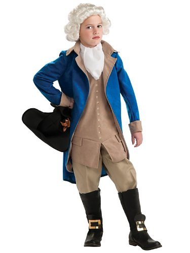 <strong>Amazon.com</strong> - Boys George Washington Halloween Costume