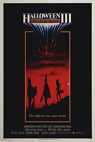 Halloween III Season Of The Witch Movie Poster Ss 1 Sheet Original