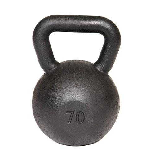 Troy Barbell VTX Cast Iron Kettlebell (70 -Pounds) Review