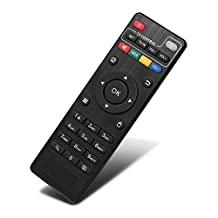 Anewish Replacement Remote Only For Android TV Box M8S Plus/BB2/KB2/KIII/RK8/AE254/AE256, BUT OTHER MODELS (INCLUDING M8S TV BOX ) WILL BE NOT COMPATIBLE AND 2*AAA BATTERIES EXLUDED IN THE PACKAGE