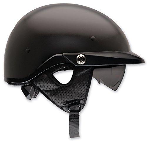 Bell Pit Boss ''Sport'' Unisex-Adult Half Street Helmet (Solid Matte Black, Large) (D.O.T.-Certified) by Bell (Image #2)