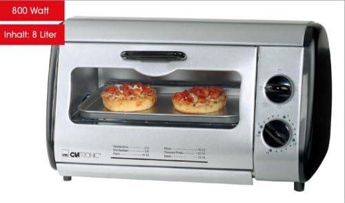 Clatronic Mini oven MB 2793 - Horno (Mesa, Plata): Amazon.es: Hogar
