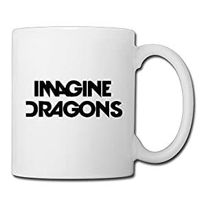 Christina Imagine Dragons Logo Ceramic Coffee Mug Tea Cup White