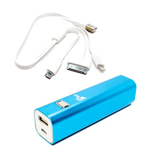 Samsung Galaxy S ? Portable Charger - External Battery Pack with Multiple USB Cable (Single USB Power Bank, 3000mAh, 1A Output)