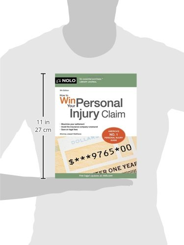5162OI9NR-L How to Win Your Personal Injury Claim