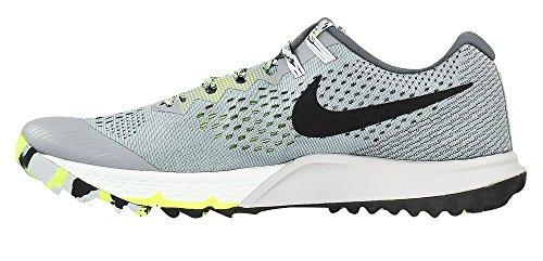 Nike Herren Zoom Terra Kiger 4 Trail Laufschuhe Stealth / Schwarz-Dunkelgrau-Volt