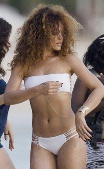Generic Ombligo chapado en oro collar de cadena Celebrity Bikini Crossover cuerpo vientre arnés cadena para el cuerpo en Oro