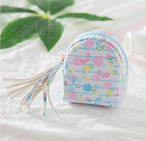 Wiwi.f Mini Rucksack Damen Geldbörse Schlüsseletui Geldbeutel